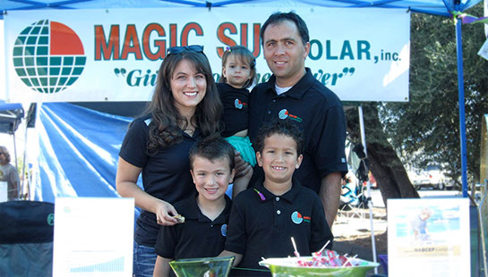 Magic Sun Solar Family